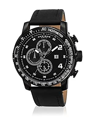 Akribos XXIV Reloj con movimiento cuarzo suizo Man AK743BK 48 mm