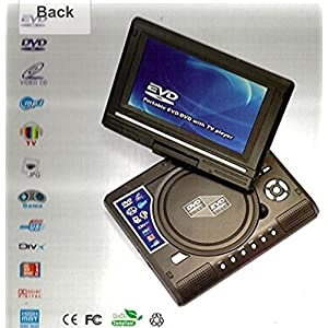 9.8 PORTABLE EVD/DVD PLAYER WITH TV PLAYER