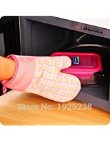 Microwave Oven heatproof Non-Slip Kitchen Gloves