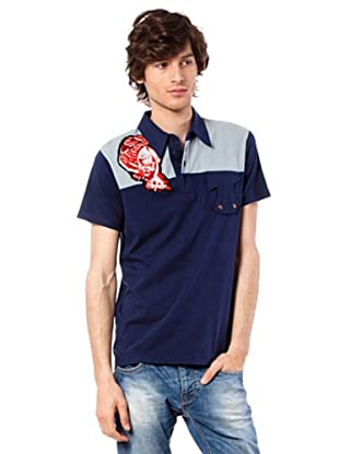 Custo Poloshirt Pure T (Marineblau)