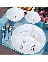 Corelle Kids Collection 6 Pc Dinner Set - Playful Panda