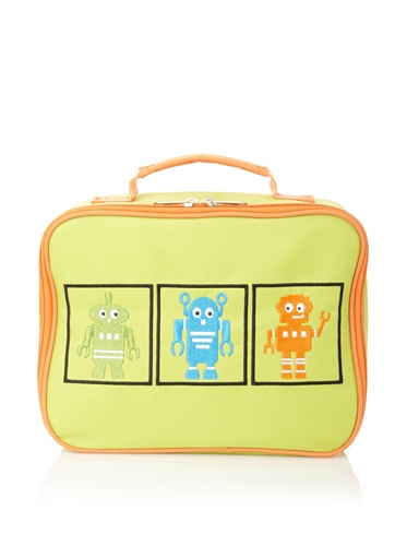Cocolime Rusty Robots Lunchbox, Yellow