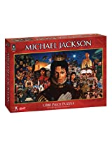 Michael Jackson Collage 1,000 pc Puzzle