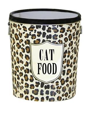Harry Barker Cat Food Storage Canister (Leopard)