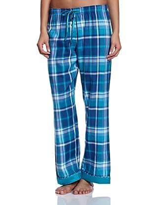 Cyberjammies Pantalón De Pijama Monets Storm Checks (Turquesa / Azul)