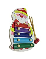 DCS Wooden Santha Musical Xylophone For Kids(13X2X24 Cm)