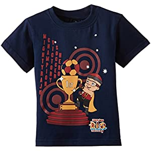 Mighty Raju T-Shirt (GGAPP-MR17B-Royal Blue_3-4 years)