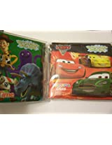 Disney Bath Books ~ Set of 2 (Cars, Colorful Cars; Toy Story, Counting Time)