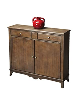 Butler Specialty Company Dusty Trail Console Cabinet, Rustic Wood