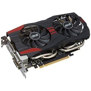 ASUS GTX760-DC2OC-2GD5 GeForce GTX760 2GB GDDR5 256-bit DVI-I/DVI-D/ HDMI/DP PCI-Express 3.0 SLI ready Graphic Card OC-selected 1072 MHz core