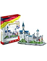 Frank - 3D Puzzle - Cubic Fun - Neuschwanstein Castle