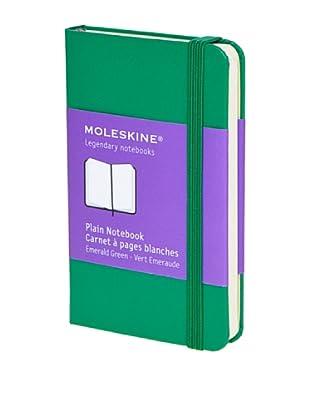 Moleskine Cuaderno Notas Hojas Lisas Verde Hierba