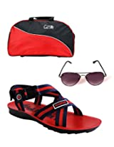 Elligator -1009 Floater With Duffle Bag & Spartiate Sunglass Combo