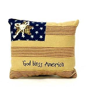 【クリックでお店のこの商品のページへ】アントステラ GOD BLESS AMERICA ミニピロー: ホーム&キッチン
