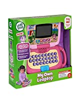 Leapfrog My Own Laptop Leaptop Learning Computer Toy Violet Pink