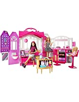 Barbie Glam Gateway House with Doll, Pink