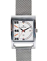 Maxima Attivo  Analog White Dial Men's Watch - 27790CMGI