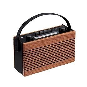 DESIGN FACTORY ウッドラジオ