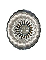 Next Innovations EMSUNAS PB Antique Silver Sun Face Eycatcher, Medium