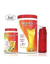 Incredio Meal Replacement Shake, Mango (500g) and Refresh Tea, Honey Lemon (150g)