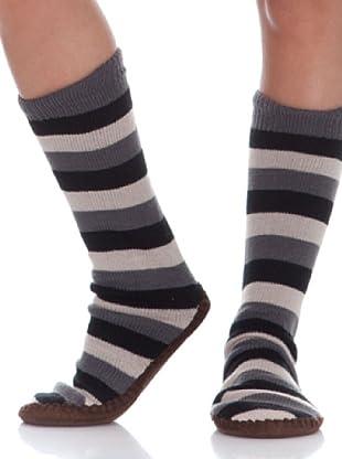 Springfield Calcetines Sleeper Stripes (negro)