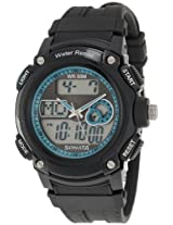 Sonata Ocean Series Analog-Digital Black Dial Men's Watch - NE7989PP01J