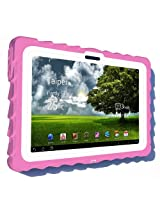 Gumdrop Cases Drop Tech Series Case for Asus EEE Pad Transformer TF101, Pink-White, (DT-ASUS-PNK-WHI)
