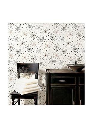 Jax Starburst Wallpaper, Espresso