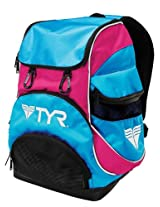 TYR Alliance Team Mini Backpack (Blue/Pink)