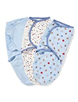Summer 3 - Pack Infant SwaddleMe Sports (Blue/White)