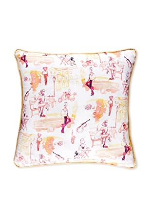 AphroChic Brooklyn Life Pillow (Watercolor)
