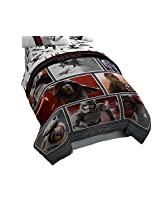 Disney Star Wars Ep7 Live Action Comforter, Red, Twin