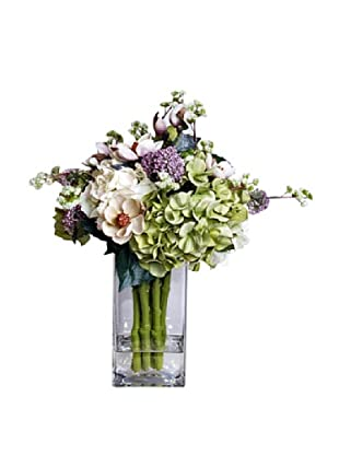 Mixed Bouquet In Water (Green/Pink/white)