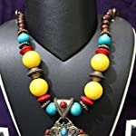Wooden Necklace with unique Pendent