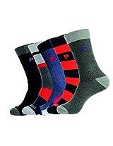 MENS PIERRE CARDIN DESIGNER SOCKS - PACK OF 5 - GIFT SET