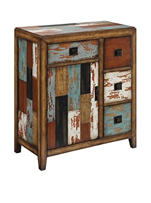 Coast To Coast 4- Drawer 1-Door Cabinet, Multi