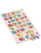 Skillofun Hindi Alphabet Tray