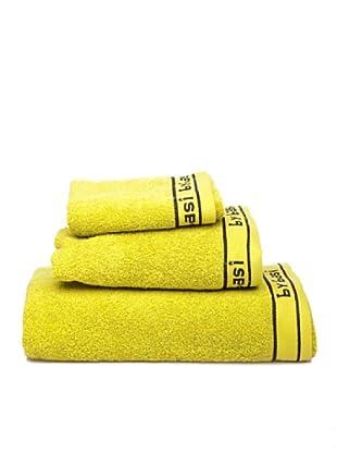 ByBasi Estuche de toallas Logo (Pistacho)