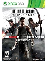 Ultimate Action Triple Pk (Just Cause 2/Tomb Raide
