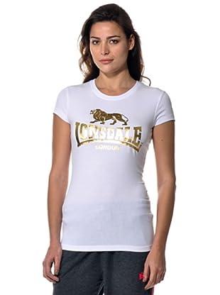 Lonsdale Camiseta Linda (Blanco)