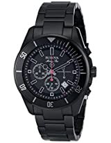 Bulova Marine Star Analog Black Dial Men's Watch - 98B231
