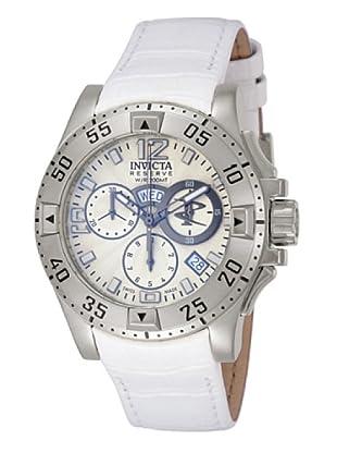 Invicta 10526 - Reloj de Señora cuarzo piel Blanco