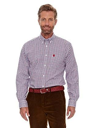 Cortefiel Camisa Cuadro (Rojo)