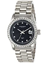 Akribos XXIV Men's AK488SSB Impeccable Analog Display Japanese Quartz Silver Watch