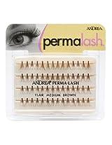 Andrea Permalash Individual Lashes - Flair Medium, 56-Count (Pack of 4)