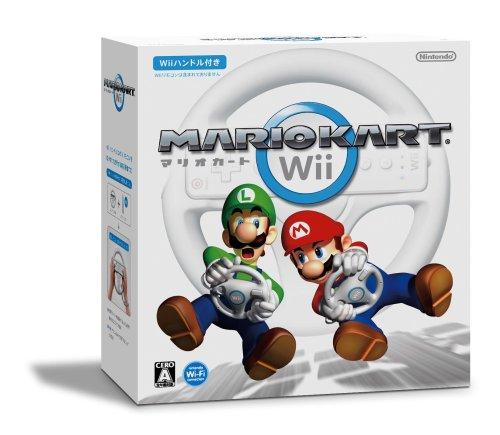 マリオカートWii (「Wiiハンドル」×1同梱) / 任天堂