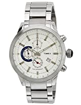 Timex E Class Analog Silver Dial Men's Watch - TW000Y400