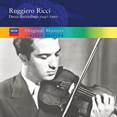 Ruggiero Ricci: Decca Recordings 1950-1960