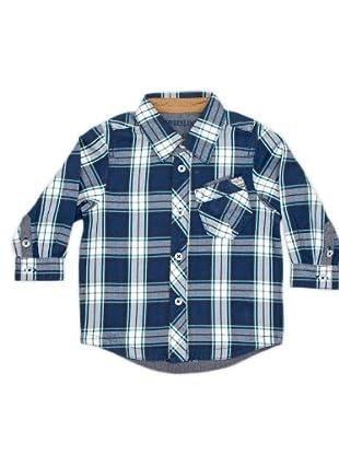 Timberland Kids Camisa Bolsillo (azul marino)