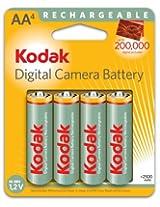 Kodak Max 4 NiMH 2500mAh Rechargeable AA Batteries